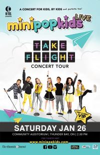 Mini Pop Kids -  Take Flight Concert Tour