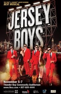 Jersey Boys! The Story of Frankie Valli & The Four Seasons