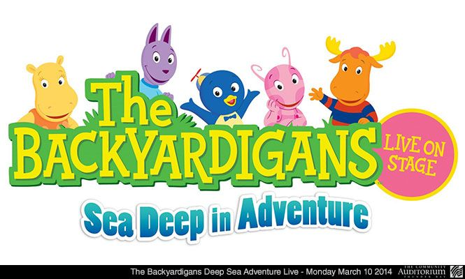 The Backyardigans Deep Sea Adventure Live