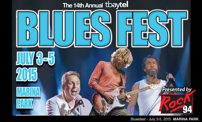 14th Annual Tbaytel Bluesfest