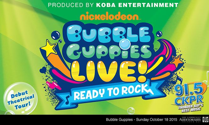 Bubble Guppies LIVE Ready to Rock!