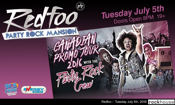 Redfoo at Rockhouse