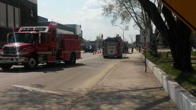 Thunder Bay Fire and Rescue at the Courthouse