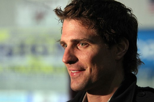 Thunder Bay native and Chicago Blackhawks forward Patrick Sharp