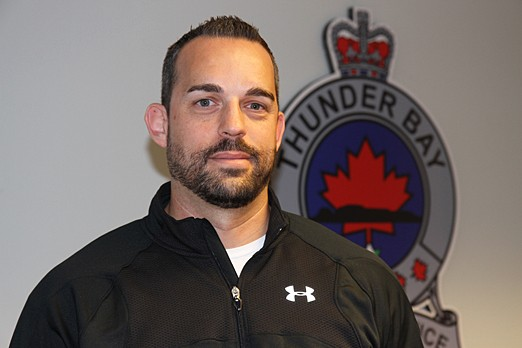 Thunder Bay Police Service Sgt. Neil Herman.