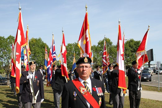 A parade commemorated the Battle of Britain Sunday.