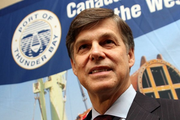 Terence Bowles, president and CEO of the St. Lawrence Seaway Management Corporation, on Wednesday said $2 billion in improvements to the system and its ships could mean more business for Thunder Bay.
