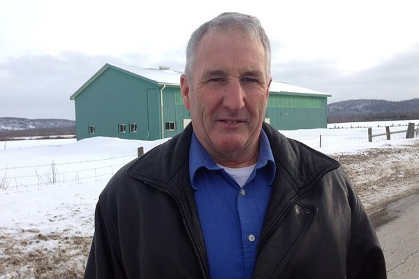 Thunder Bay Agricultural Research Association president Bruce Forrest