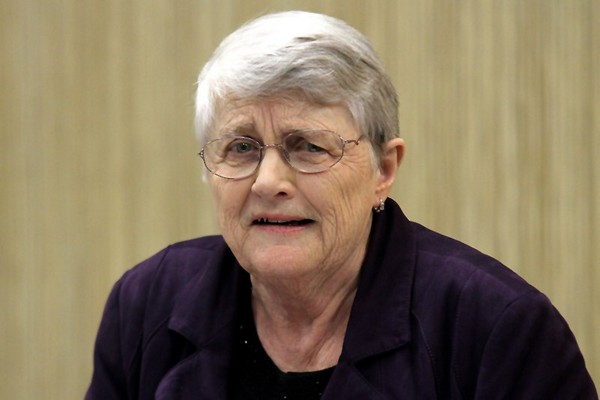 Former Liberal leader Lyn McLeod on Wednesday said women face obstacles entering the political arena.