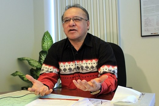 FILE -- Nishnawbe Aski Nation Grand Chief Harvey Yesno.