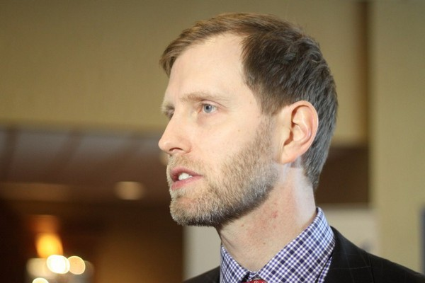 Ontario Chamber of Commerce vice-president Josh Hjartarson authored a report on the potential impact of the Ring of Fire.