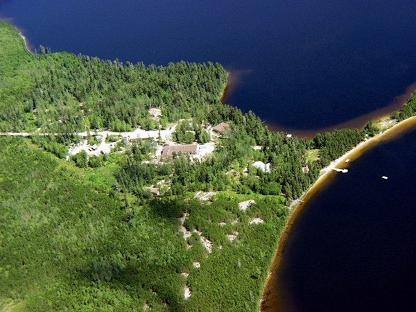 An aerial view of a field station is shown in a handout photo. A world-famous research area in northwestern Ontario will remain open thanks to agreements between the provincial and federal governments and the Manitoba-based group that runs the facility.