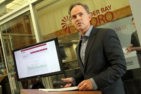 Thunder Bay Hydro`s Tim Wilson says online tracking of residential energy use can be an eye-opener.