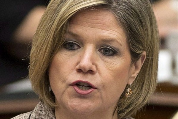 Ontario NDP leader Andrea Horwath is pictured in the Ontario Legislature on April 8, 2014. THE CANADIAN PRESS