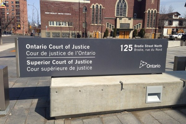 Thunder Bay Police Service Const. Steven Oster was found not guilty of assault Wednesday at the Thunder Bay Courthouse.
