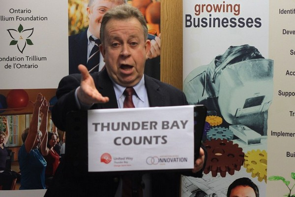 FILE - Thunder Bay-Superior North Liberal candidate Michael Gravelle says his party has the track record to show it is committed to fighting for minimum wage workers.