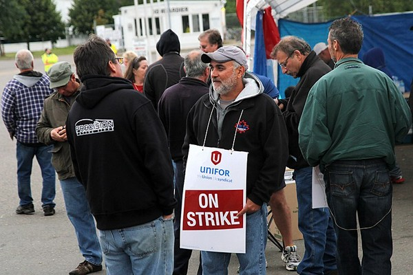 Unifor Local 1075 members remain on the picket line, five weeks after they walked off the job at the city