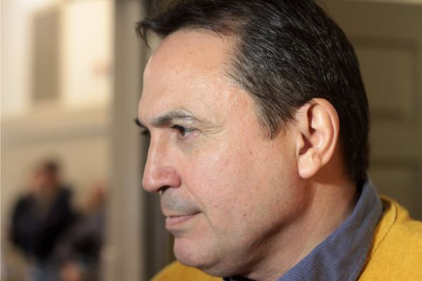 AFN National Chief Perry Bellegarde was the keynote speaker at Windigo Education Authority's conference Thursday at the Airlane Hotel and Conference Centre.